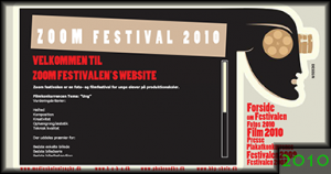 Zoom Festival 2010 Website