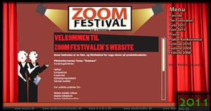 Zoom Festival 2011 Website